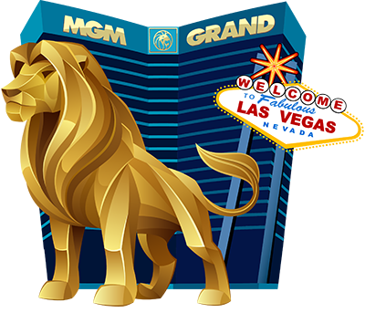 MGM Grand Las Vegas Lion Logo