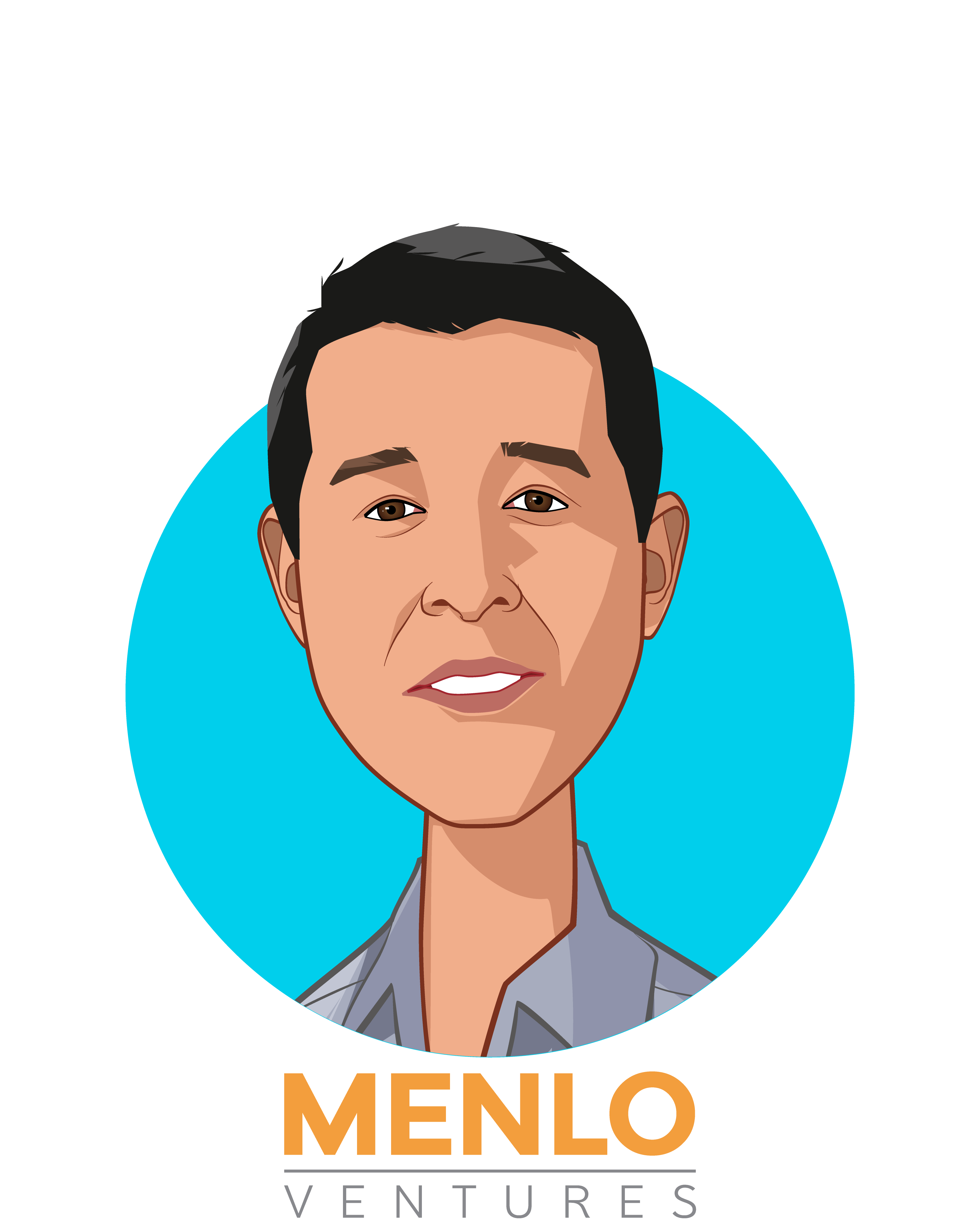 Main caricature of Greg Yap, who is speaking at HLTH and is Partner at Menlo Ventures