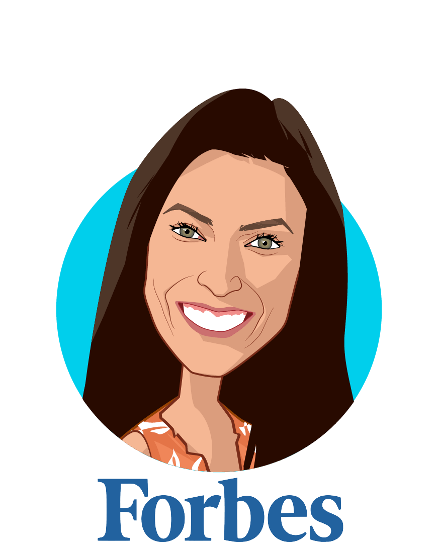 Main caricature of Nicole Fisher , who is speaking at HLTH and is Global Health, Technology and Policy Contributor at Forbes