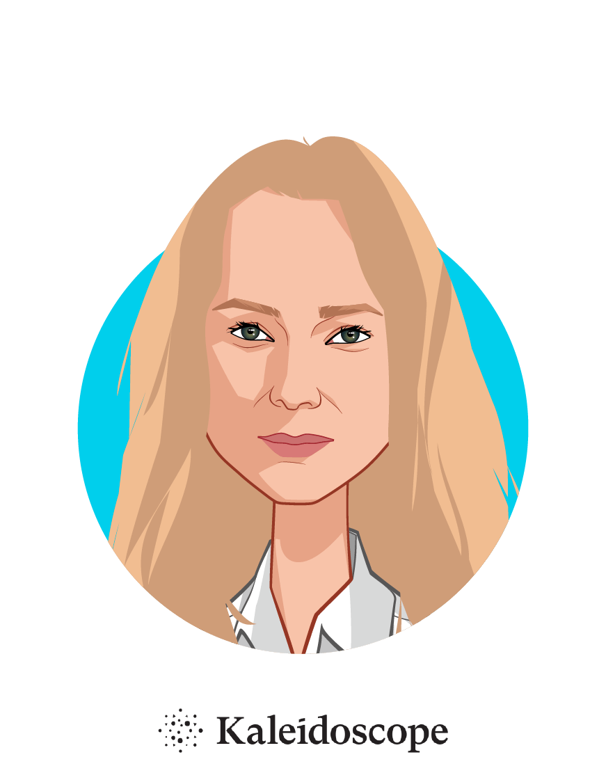 Main caricature of Ana Rosenstein, who is speaking at HLTH and is Founder and CEO at Kaleidoscope Labs
